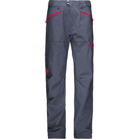 Norrøna M's Falketind Flex1 Pants Cool Black/Crimson Kick